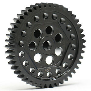 Harden Steel Spur Gear 45T 0.8M(32P) - 1PC For Traxxas TRX-4 8053