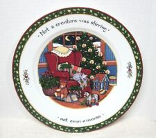 A Christmas Story International China Susan Winget Not A Creature Dinner Plate