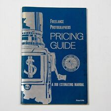 Vintage 1972~Freelance Photographers Pricing Guide~Mint~Collectible