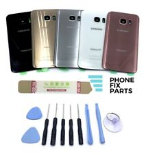 Samsung Galaxy S7 Battery Cover Back Glass Replacement Door Case +Tools Kit