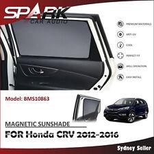 SP MAGNETIC CAR WINDOW SUN SHADE BLIND MESH FOR HONDA CRV CR-V 2012-2016