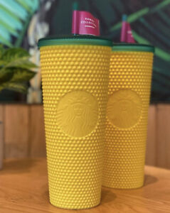 Starbucks Hawaii Studded Pineapple 24OZ Venti Tumbler 2020 Exclusive 100% New