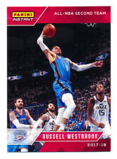 2017-18 PANINI INSTANT #182 RUSSELL WESTBROOK ALL-NBA TEAM THUNDER RARE SP/63!