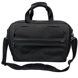 Tumi 22121D4 Carry On Travel Suitcase Messenger Expandable Bag Ballistic Nylon