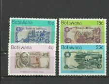 Botswana - Banknotes on stamps, MNH