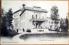 1906 Switzerland Postcard: Bezirksspital Hotel, Langenthal - Swiss