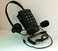 Telcent CT-200 Feature Tone Dialling Headset Telephone with REDIAL MUTE & FLASH