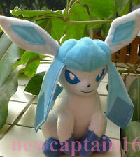 New Pokemon Ice 8 inch Glaceon~  Plush Doll Toy #024 Collectible Lovely Gift