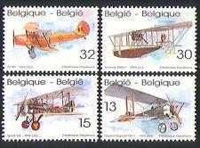 Belgique 1994 Aviation/Avions/Transport 4 V Set (n32358)