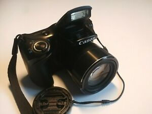 Canon PowerShot SX430 IS 20.5 MP Digital Camera - Schwarz
