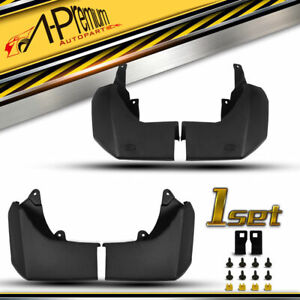 4Pcs Splash Guards Mud Flaps for Land Rover Discovery 4 L319 LR4 SUV 2009-2016