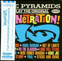 PYRAMIDS-THE PYRAMIDS PLAY THE ORIGINAL...-JAPAN MINI LP CD BONUS TRACK C94