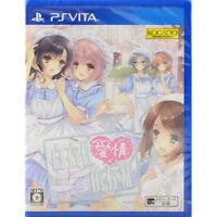 PS Vita White Robe Love Addiction Hakuisei Aijou Izonshou Japan PSV F/S