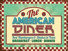 Deko-Schilder & -Tafeln mit dem Thema American Diner günstig ...