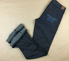 AMERICAN EAGLE NEW Womens JAPANESE SELVEDGE Real Flare Jean Tag 6 R Actual 30x33