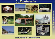 Prospekt Roadmaster Faltcaravan 2008 brochure tent-trailer tente-roulotte