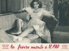 SEXY MARIA FELIX  LA FIEVRE MONTE A EL PAO 1959 PHOTO ORIGINAL LUIS BUNUEL LEGGY