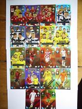 Panini Adrenalyn XL euro 2021 Kick Off Nordic Edition 406-423
