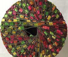 Di.Ve Scaletta Mini Ladder Ribbon Yarn #24269 Sherbet Lime, Fuchsia, Yellow 25gr
