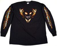 DISTURBED Eyes Long Sleeve T-shirt Heavy Metal Hard Rock Tee Men XL Black New