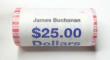 2010-P James Buchanan Presidential Dollar Roll - $25 - Unopened!