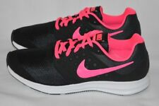 Nike Downshifter 7 Grade School Girls' Running Shoes Sneakers Black/Pink Size 7Y