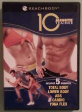 tony horton 10 MINUTE TRAINER total / lower body abs cardio yoga  DVD 2 disc set