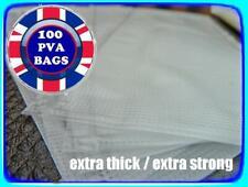 💥100 x PVA BAGS💥 60 x 100mm STRONG + TOTAL DISSOLVE + CARP BOILIES, PELLETS