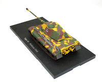 Tiger Ⅱ Wallonia 1944 Atlas Tank Model Road Sigh Die Cast Collection Gift 1/72