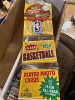 1990 Fleer Basketball Rack Pack POSSIBLE MICHAEL JORDAN 1990 Fleer Rack Pack