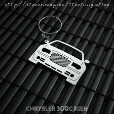 Chrysler 300C Stainless Steel Keychain