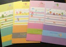 Stripes & Dots Animal Letter Set - Cute Korean Stationery - Kawaii writing paper