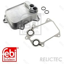 Engine Oil Cooler VW Seat Audi Skoda:GOLF V 5,IBIZA IV 4,A3,TOURAN,TIGUAN