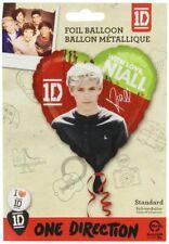 "One Direction 1D 18"" Heart Metallic Balloon - Niall"