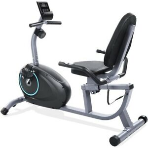 Stationary Indoor Cycling 8 Levels Adjustable Magnetic Exercise Bike Workout