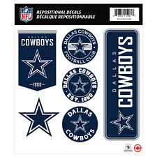 Dallas Cowboys 12x14 Repositional Wall Decal Pack