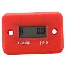 Hour Meter For Boat Yama Ski Dirt Quad Dirt Bike Marine ATV Motorcycle Red E2V3