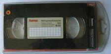 Hama F3044728 – cinta cassette limpiadora VHS con Líquido de limpieza