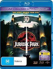 JURASSIC PARK 2D & 3D Blu-Ray (2 Disc) SAM NEILL JEFF GOLDBLUM ***