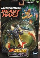 Transformers Beast Wars Transmetals Airazor Deluxe Eagle Figure 1997 New MOC