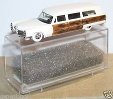 RARE OLD MODEL HO 1/87 PRALINE CADILLAC 70 STATION WAGON de LUXE DECOR BOIS BOX