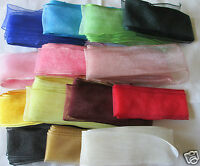 38mm ORGANZA RIBBON  WIRED EDGE various colours  2m or 5m