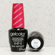 OPI GelColor GC C09 POMPEII PURPLE 15mL/ 0.5oz UV LED Gel Polish Color
