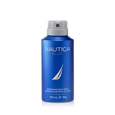 Nautica Blue Deodorant Body Spray for Men 150 ml | Genuine Deodorants