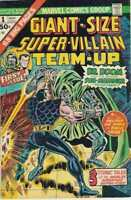 Giant-Size Super-Villain Team-Up #1 in Fine minus condition. Marvel comics [*ly]