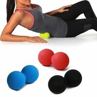 Peanut Massage Ball Exercise Relieve Pain Fitness Yoga Full Body Massaging