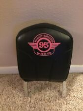 95th anniversary 1998 Harley Davidson Passenger  backrest & pad , For sportster