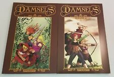 Dynamite DAMSELS Volume 1 & 2 ~ Trade Paperback ~Moore~Reppion~Aneke~ TPB TPBS
