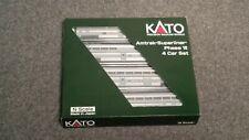 Kato N Scale Amtrak Phase VI Superliner 1 4 car set. Set A NIB STK#106-3515