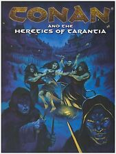 CONAN AND THE HERETICS OF TARANTIA Fantasy Adventure Roleplaying Game RPG (New)